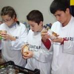 Alumnes del Lluçanès participen El Gran recapte